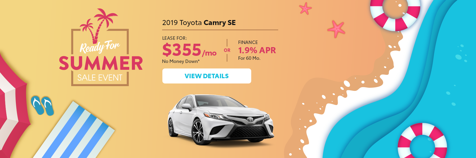 Ready For Summer Camry Offer