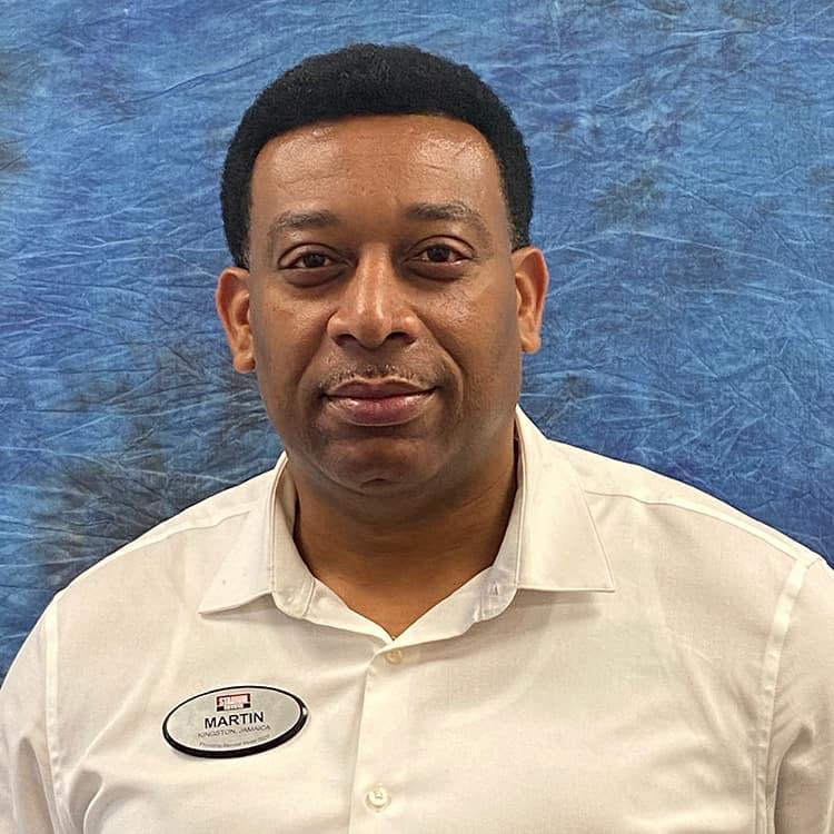 Martin McLymont Employee Photo