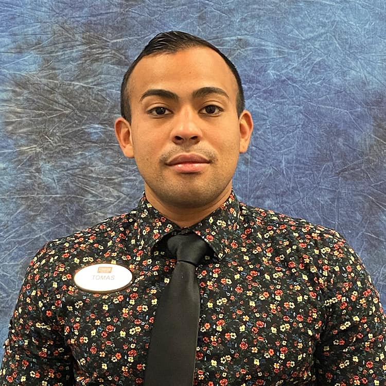 Tomas Cuellar Employee Photo