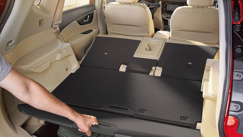 2018 Nissan Rogue Hidden Trunk