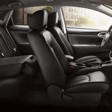 Sentra Rear Seating