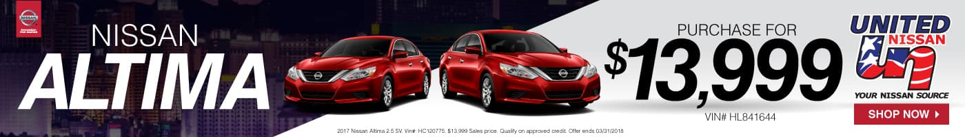 Purchase New Nissan Altima