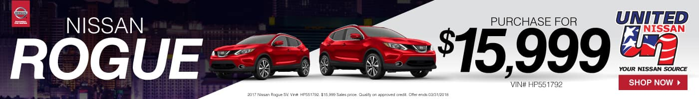 Nissan Rogue Sales