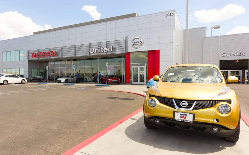 United Nissan Service Center