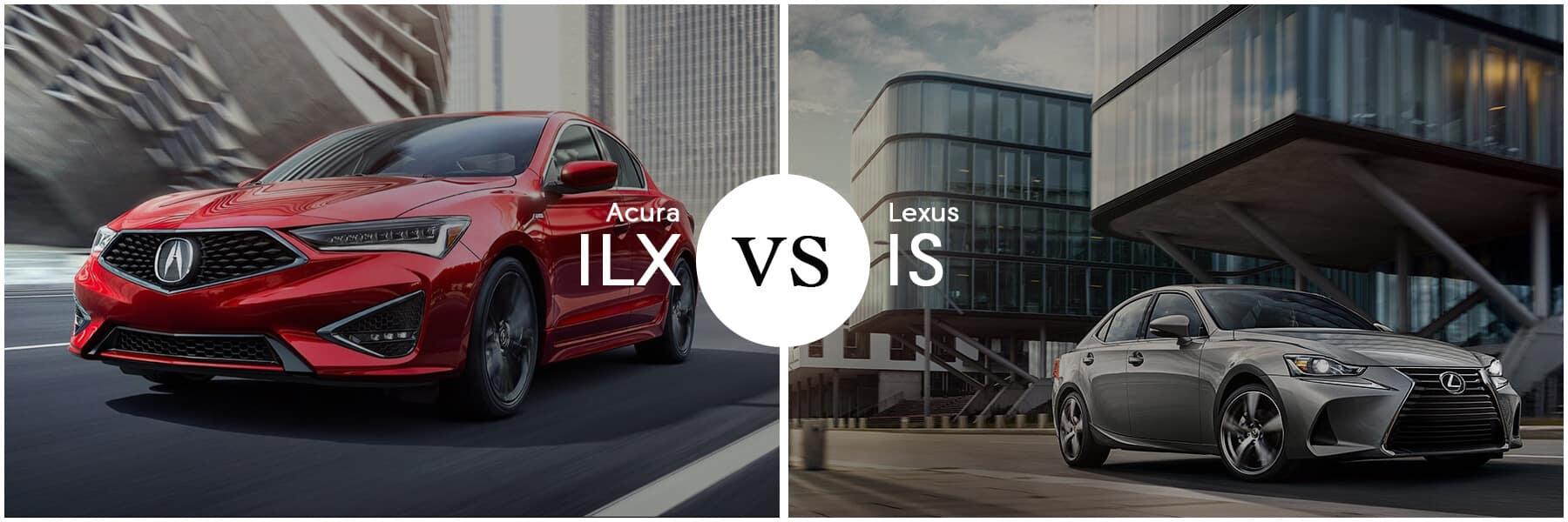 Acura ILX Versus Lexus IS 300 Slider