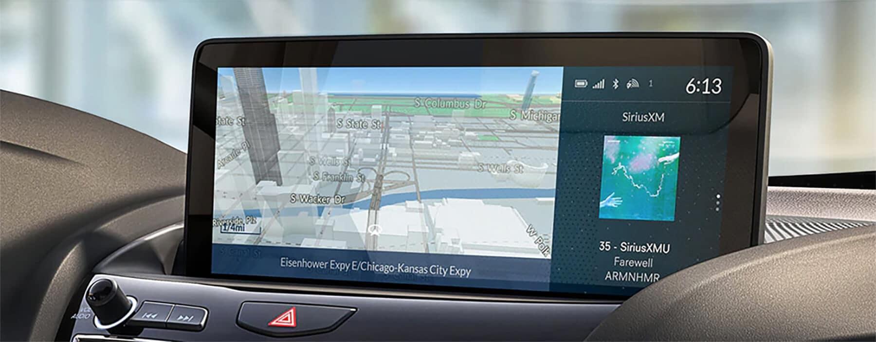 Acura Navigation System Slider