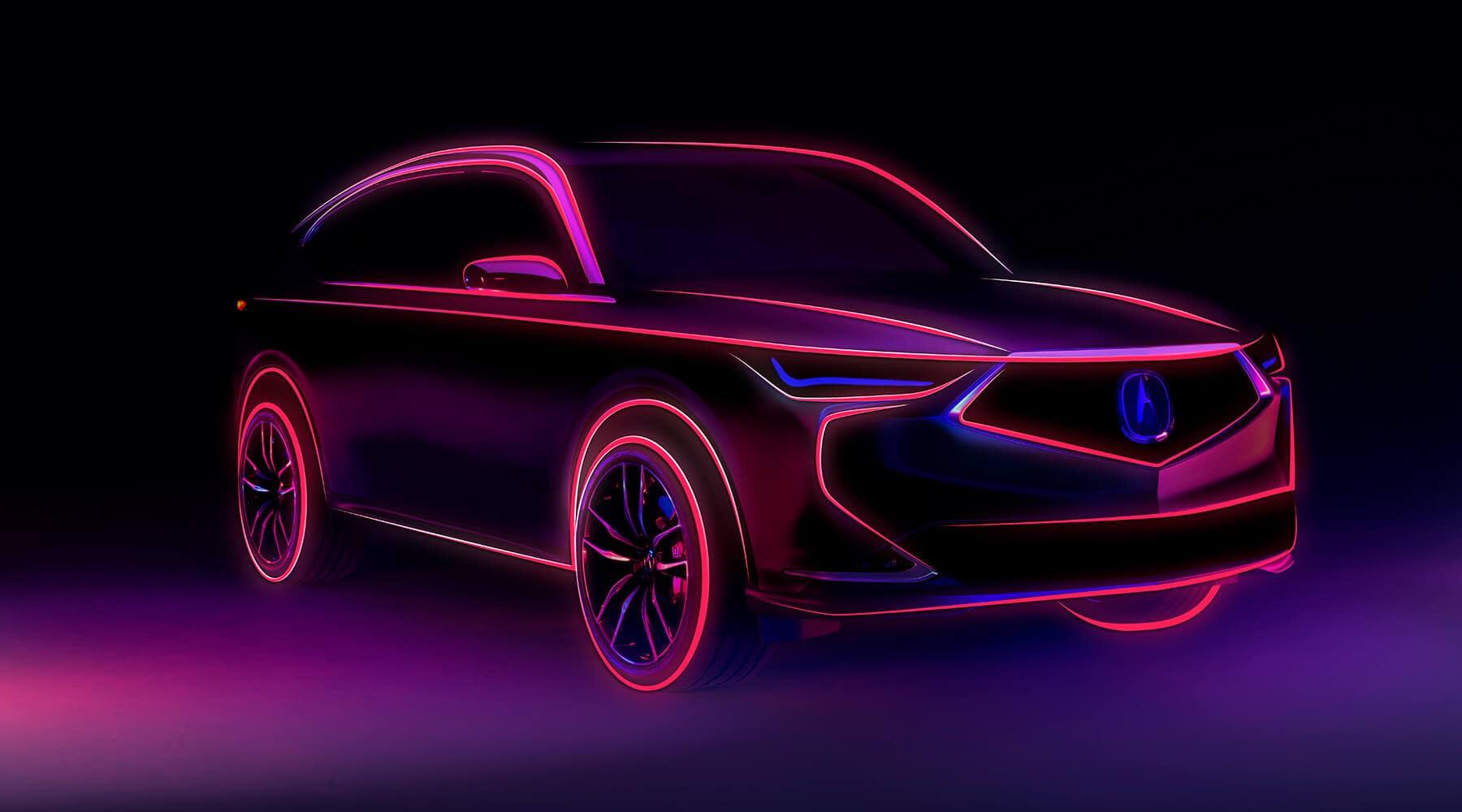 2022 Acura MDX Prototype Slider