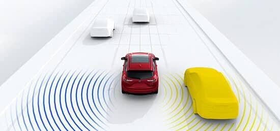 Acura RDX Overview Blind Spot Awareness