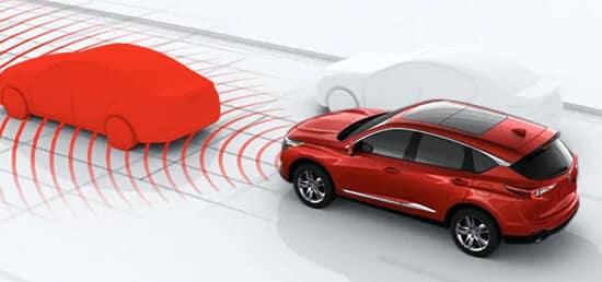 Acura RDX Overview Collision Mitigation Braking