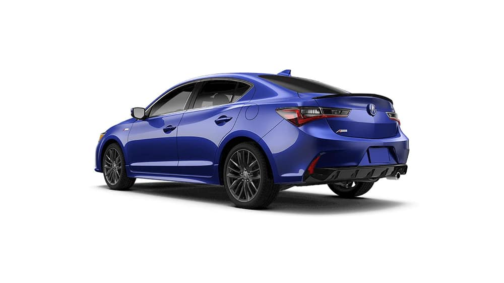 2021 Acura ILX A-Spec Technology Package Rear Angle Jellybean