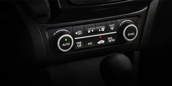 2021 Acura ILX Dual Zone Climate Control Image