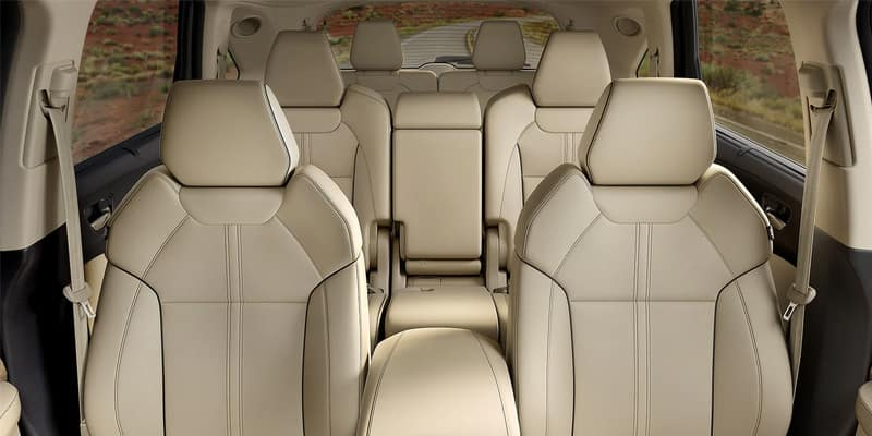 Acura SUV Lineup: 2020 MDX Interior Dimensions Image