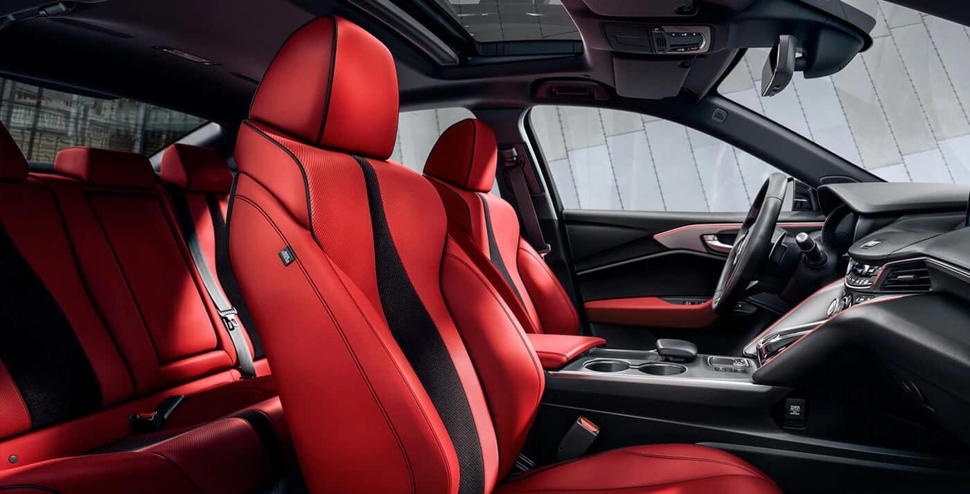 Acura A-Spec Package Interior Design