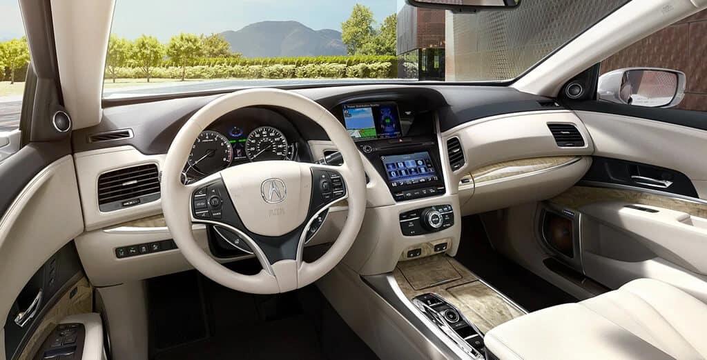 Acura RLX Sport Hybrid SH-AWD Interior Image