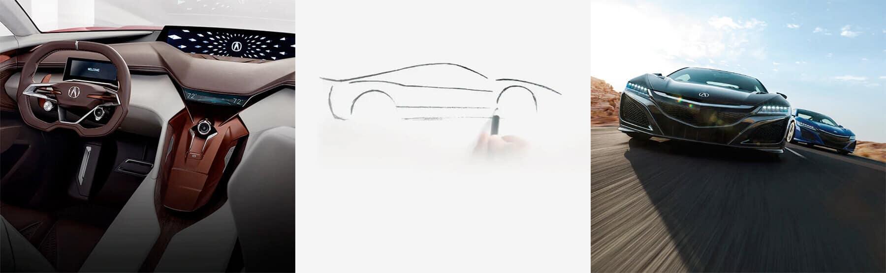 Acura Sport Hybrid Performance Footer Image