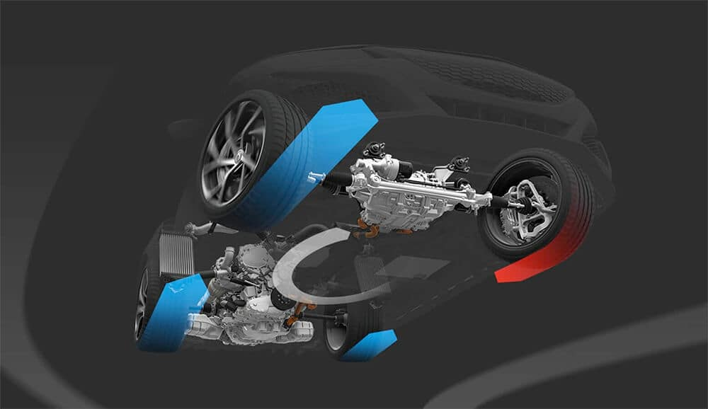 Acura Sport Hybrid Torque Vectoring Image
