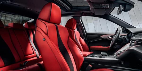 2021 Acura TLX A-Spec Interior Image