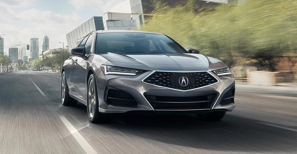 2021 Acura TLX Redesign Front Angle