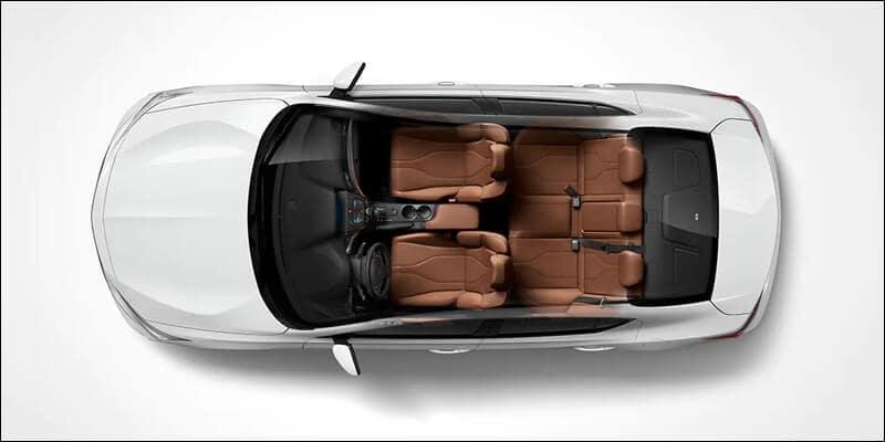 Acura ILX Interior Dimensions Image