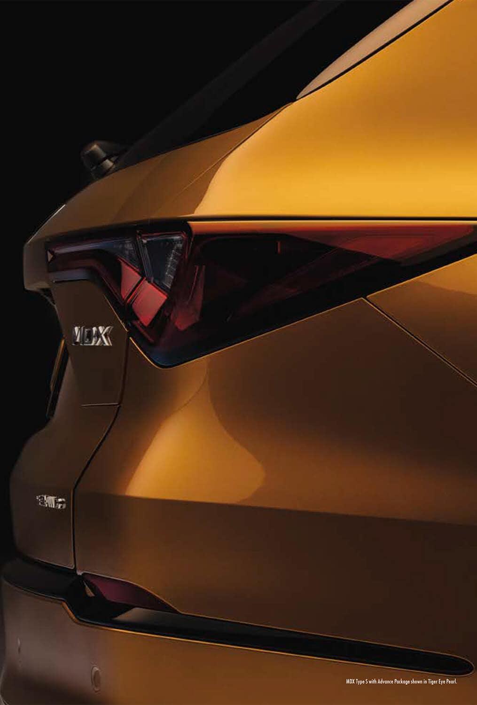 2022 Acura MDX Type S Taillight Image