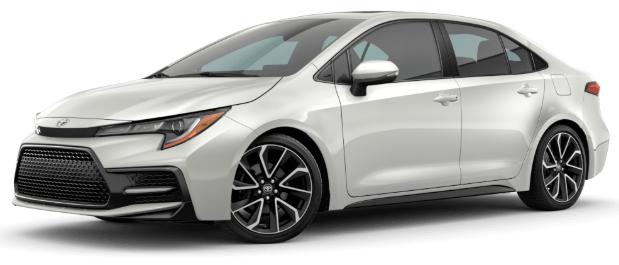 New 2021 Toyota Corolla SE Automatic