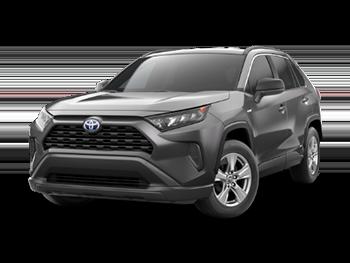 2021 <b>Toyota RAV4</b> <small>Hybrid LE AWD</small>