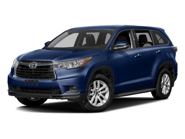 New 2016 Toyota Highlander LE V6 FWD