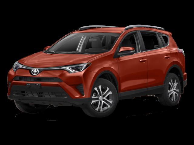 New 2017 Toyota RAV4 LE AWD