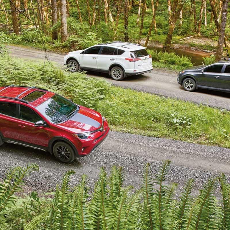 2018 Toyota RAV4 XLE Adventure and Limited