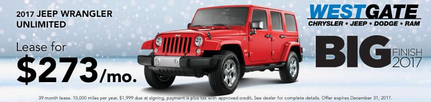 Wrangler Lease Special
