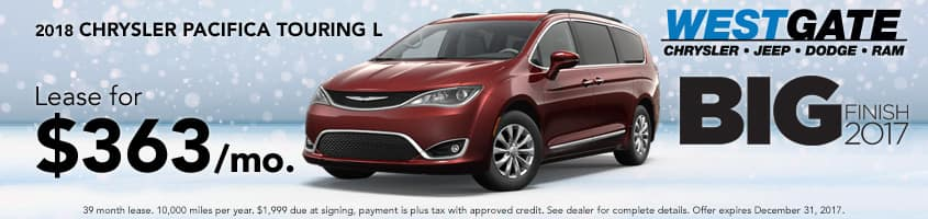 Pacifica Lease Special