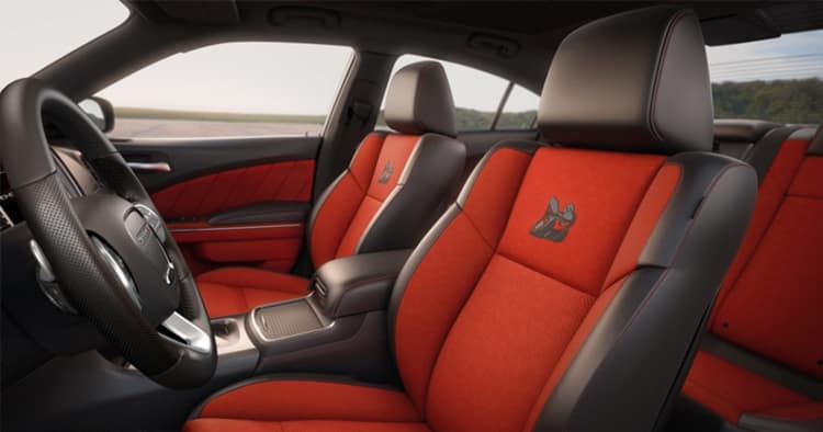 Interior of the 2018 Dodge Challenger