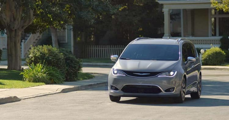 Driving 2018 Chrysler Pacifica