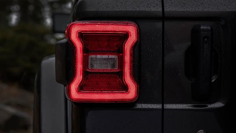 2018 Jeep Wrangler Taillight