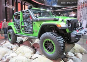 Off-Road ready Jeep