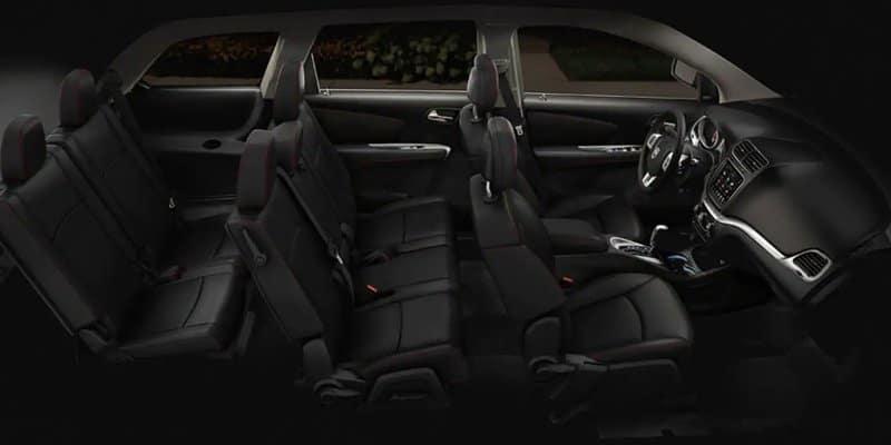 2019 Dodge Jouney Interior